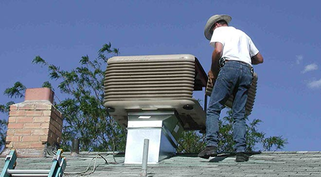 ducted evaporative air conditioning service